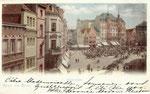 Hotel zum Goldenen Stern (heute: Sternhotel), kolorierter Lichtdruck um 1900, Bildnummer: bbv_00466