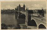 Alte Rheinbrücke mit Beueler Brückenkopf, Bildnummer: bbv_00759