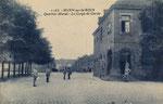 """Ehemalige Husarenkaserne, unter den Franzosen """"Quartier Murat"""" genannt, um 1920, Bildnummer: bbv_00524"""