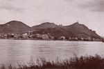 Blick auf Königswintert, Fotografie von 1891, Bildnummer: bbv_01046