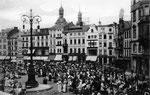 Marktplatz um 1900, Bildnummer: bbv_00052