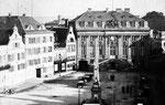 Em Höttche und Hotel zum Goldenen Stern (heute: Sternhotel), Fotografie von 1877, Bildnummer: bbv_00054