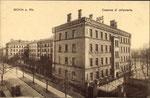 Infanteriekaserne (heute Ermekeilkaserne) an der Ermekeilstraße, um 1910, Bildnummer: bbv_00533