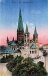 Martinsplatz, Heliochromdruck um 1910, Bildnummer: bbv_00397