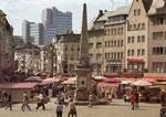 Marktplatz um 1978, Bildnummer: bbv_01147