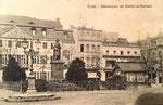 Münsterplatz um 1910, Bildnummer: bbv_00663
