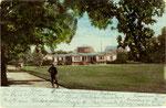 Hofgarten und Akademisches Kunstmuseum, Heliochromdruck um 1895, Bildnummer: bbv_00459