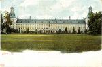 Ehem. kurfürstliches Schloss, Heliochromdruck um 1900, Bildnummer: bbv_00449