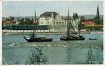 Rheinhotel Dreesen, Autotypie um 1950, Bildnummer: bbv_00334