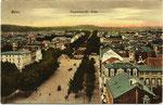 Kaiserplatz, Heliochromdruck um 1905, Bildnummer: bbv_00479
