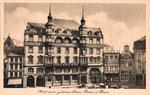 Hotel zum Goldenen Stern (heute: Sternhotel), rechts daneben Em Höttche, um 1920, Bildnummer: bbv_00154