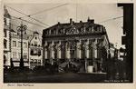 Marktplatz um 1920, Bildnummer: bbv_00736