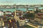 Blick auf die alte Rheinbrücke, Bildnummer: bbv_00321