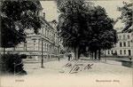 Baumschulallee um 1900, Bildnummer: bbv_00207