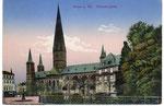 Münsterplatz, Heliochromdruck um 1910, Bildnummer: bbv_00657