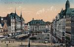 Marktplatz, Heliochromdruck um 1910, Bildnummer: bbv_00389