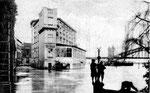 Hotel Rheineck beim Hochwasser 1919/20, Bildnummer: bbv_00017