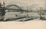 Fähranleger um 1900, Bildnummer: bbv_00767