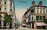 Poststraße, Autochromdruck um 1915, Bildnummer: bbv_00457