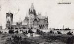 Schloss Drachenburg, Fotografie um 1900, Bildnummer: bbv_00993