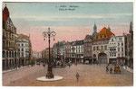 Marktplatz, Heliochromdruck um 1910, Bildnummer: bbv_00626