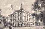 Bahnhofstraße mit Hotel Wiener Hof um 1900, Bildnummer: bbv_00904
