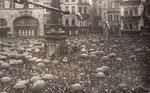Befreiungsfeier auf dem Markt zum Ende der Besatzungsmacht am 1.2.1926, Bildnummer: bbv_00234