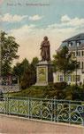 Beethovendenkmal, Heliochromdruck um 1900, Bildnummer: bbv_00330