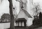 Dransdorf, Burgkapelle, Fotografie um 1980, Bildnummer: bbv_01131