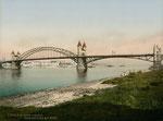 Alte Rheinbrücke, Photochromie von 1898, Bildnummer: bbv_00004
