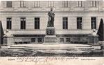 Kekulé-Denkmal, um 1910, Bildnummer: bbv_01164