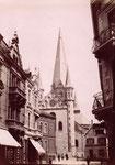 Münsterkirche Westportal um 1870, Bildnummer: bbv_00866