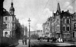 Moltkestraße (heute Weberstraße), Fotografie um 1910, Bildnummer: bbv_00121