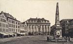 Marktfontäne, Fotografie von 1891, Bildnummer: bbv_00111