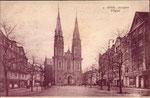 Stiftsplatz um 1925, Bildnummer: bbv_00857