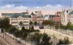 Münsterplatz, Heliochromdruck um 1915, Bildnummer: bbv_00407