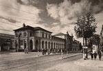 Bahnhofstraße, um 1950, Bildnummer: bbv_01243