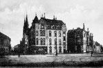 Wilhelmsplatz um 1900, Bildnummer: bbv_00044