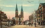 Stiftsplatz, Heliochromdruck um 1924, Bildnummer: bbv_00469