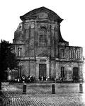 Stiftsplatz, Fotografie um 1870, Bildnummer: bbv_00040