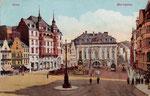 Marktplatz, Heliochromdruck um 1910, Bildnummer: bbv_00390