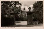 Südflügel mit barockem Eingang zum Hofgarten um 1935, Bildnummer: bbv_00492