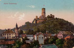 Die Godesburg, Heliochromdruck von 1905, Bildnummer: bbv_00357