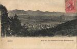 Blick von der Casselsruhe auf das Siebengebirge um 1905, Bildnummer: bbv_00897