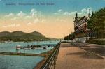 Rheinhotel Dreesen, Heliochromdruck um 1910, Bildnummer: bbv_00458