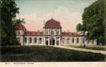Poppelsdorfer Schloss, Heliochromdruck um 1907, Bildnummer: bbv_00425