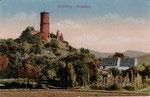 Die Godesburg, Heliochromdruck um 1905, Bildnummer: bbv_00358
