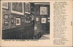 Zur Lindenwirtin Aennchen in Godesberg, Innenansicht um 1910, Bildnummer: bbv_00176