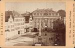 Em Höttche und Hotel zum Goldenen Stern (heute: Sternhotel), Fotografie von 1877, Bildnummer: bbv_00302