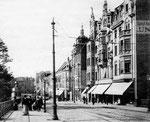Brückenstraße, Fotografie um 1900, Bildnummer: bbv_00027